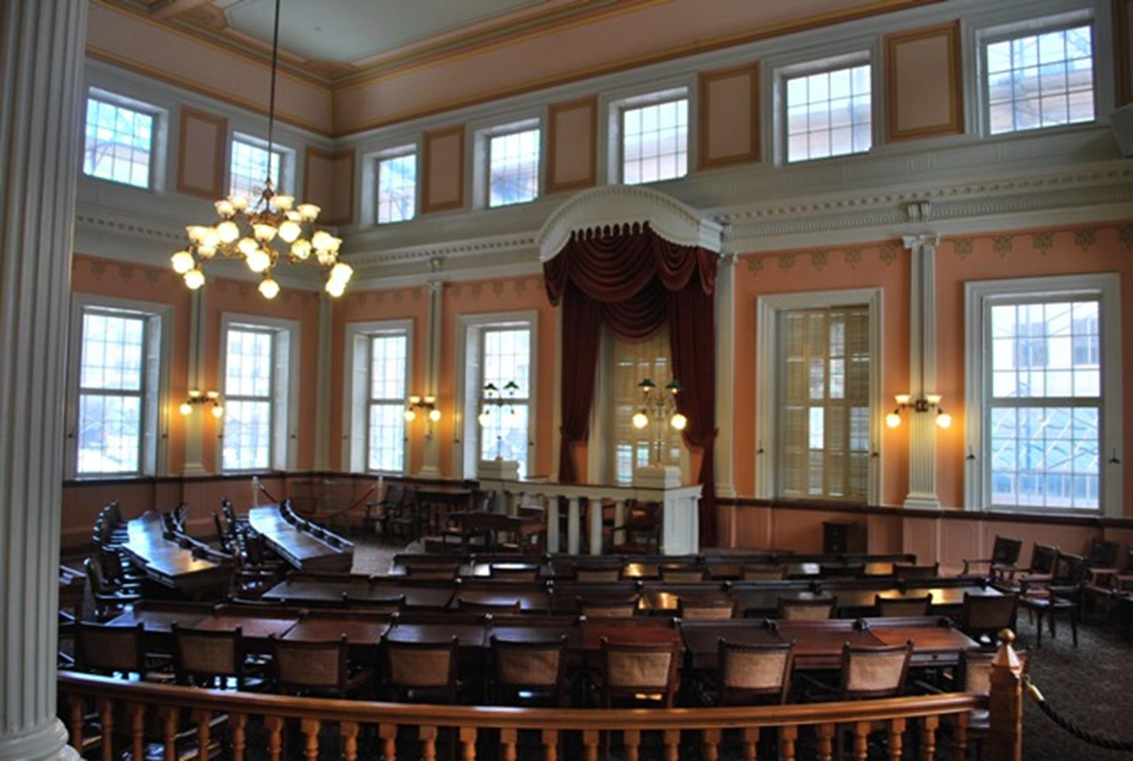 Connecticut's Old State House. Credit: Connecticut Public Affairs Network