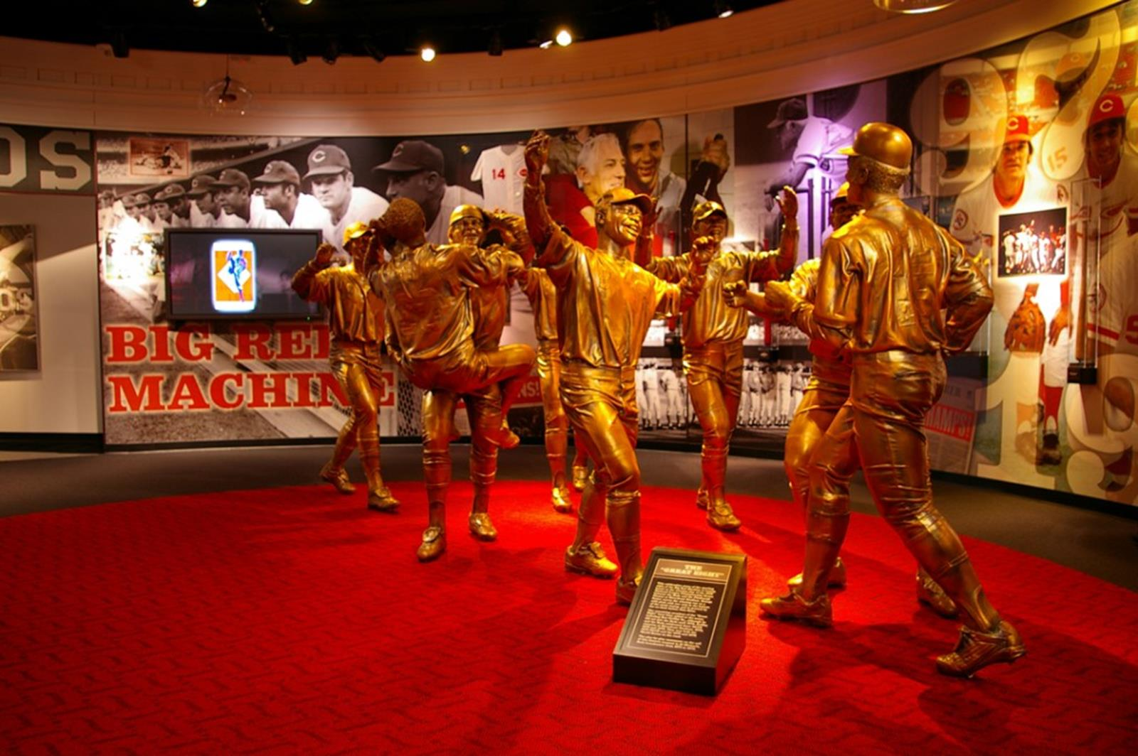 Cincinnati Reds Hall of Fame and Museum. Credit: Cincinnati Reds Hall of Fame