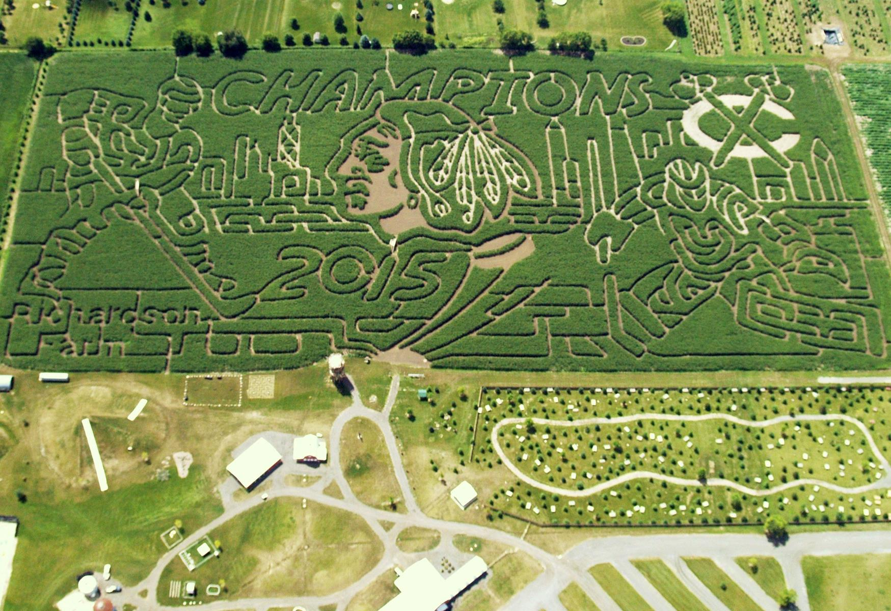 Richardson Adventure Farm's Corn Maze Makes Top-10