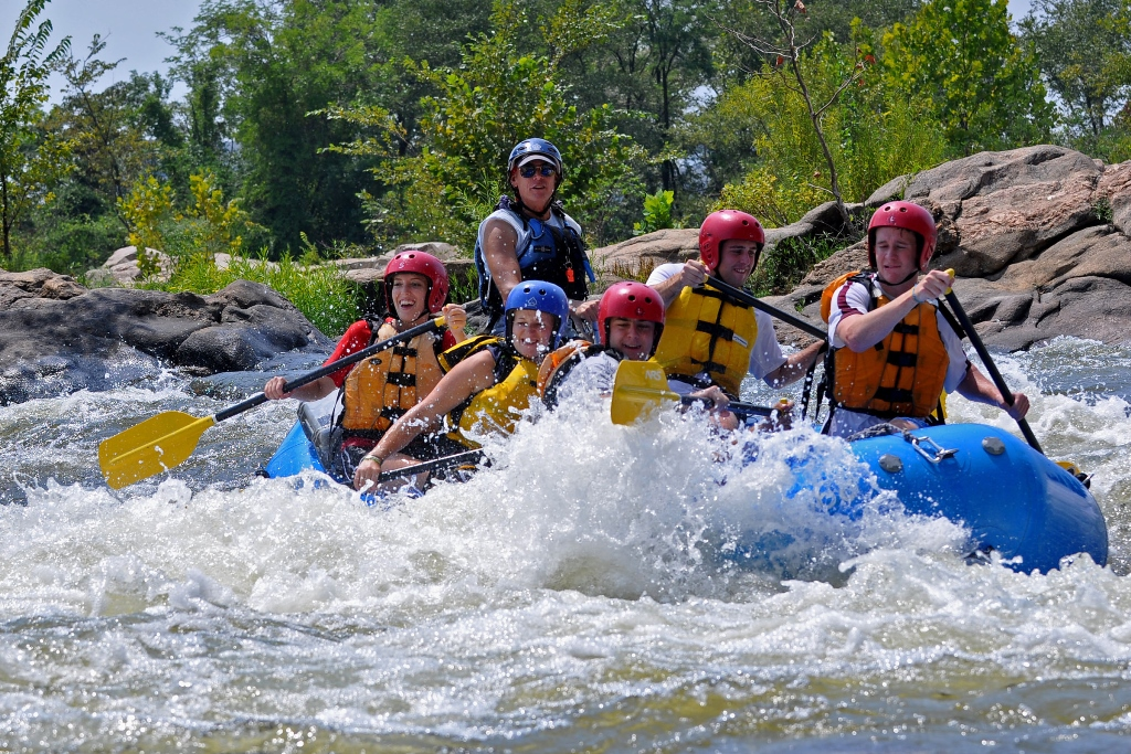 James River Whitewater Rafting