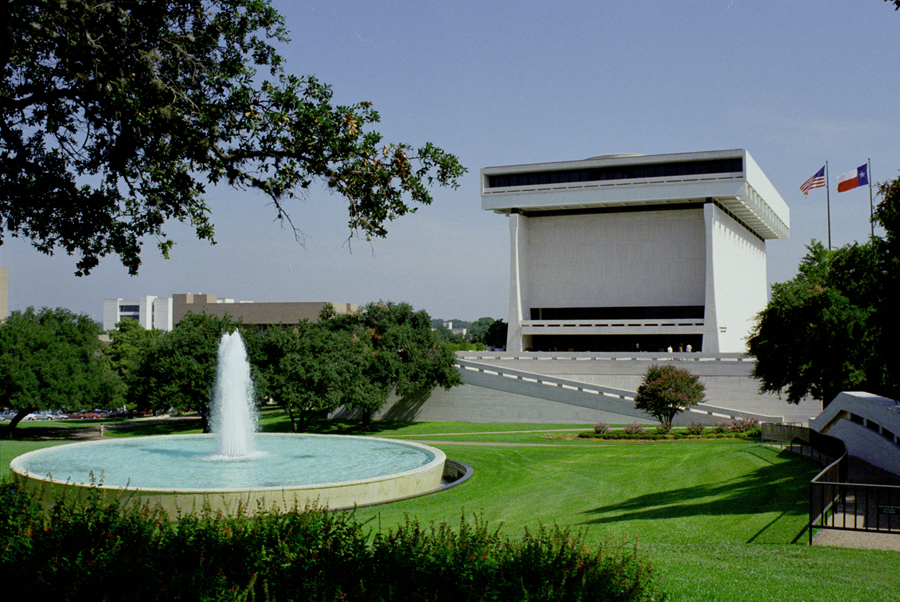 Exterior of Lyndon Baines Johnson Library and Museum. Credit: LBJ Library and Museum