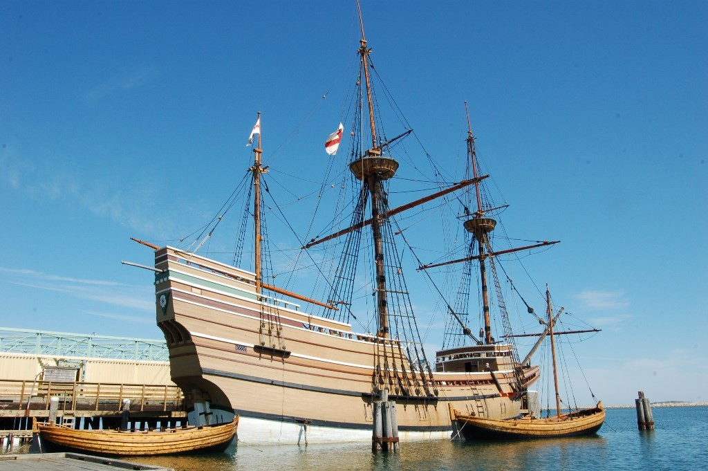 Mayflower II. Credit: Plimoth Plantation