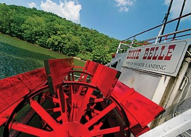 Shaker Village riverboat tour