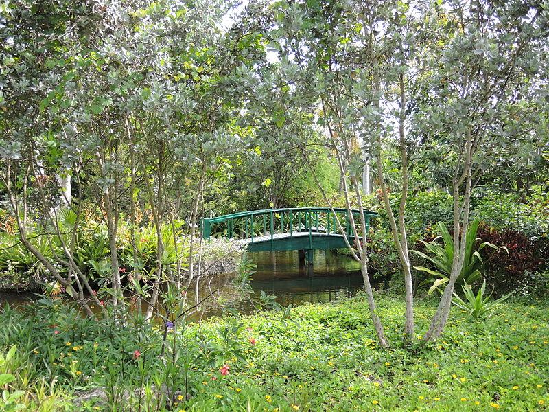 The Garden Of The Groves Bridge