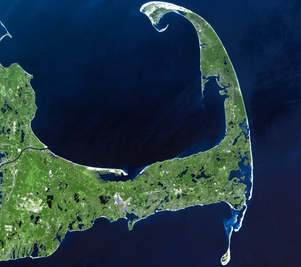 Map of Cape Cod. Credit