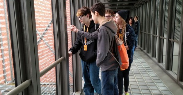 Washington DC - Boys at Holocaust Museum