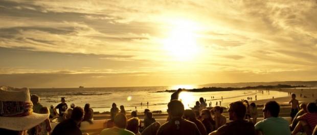 Cape town's sun rise