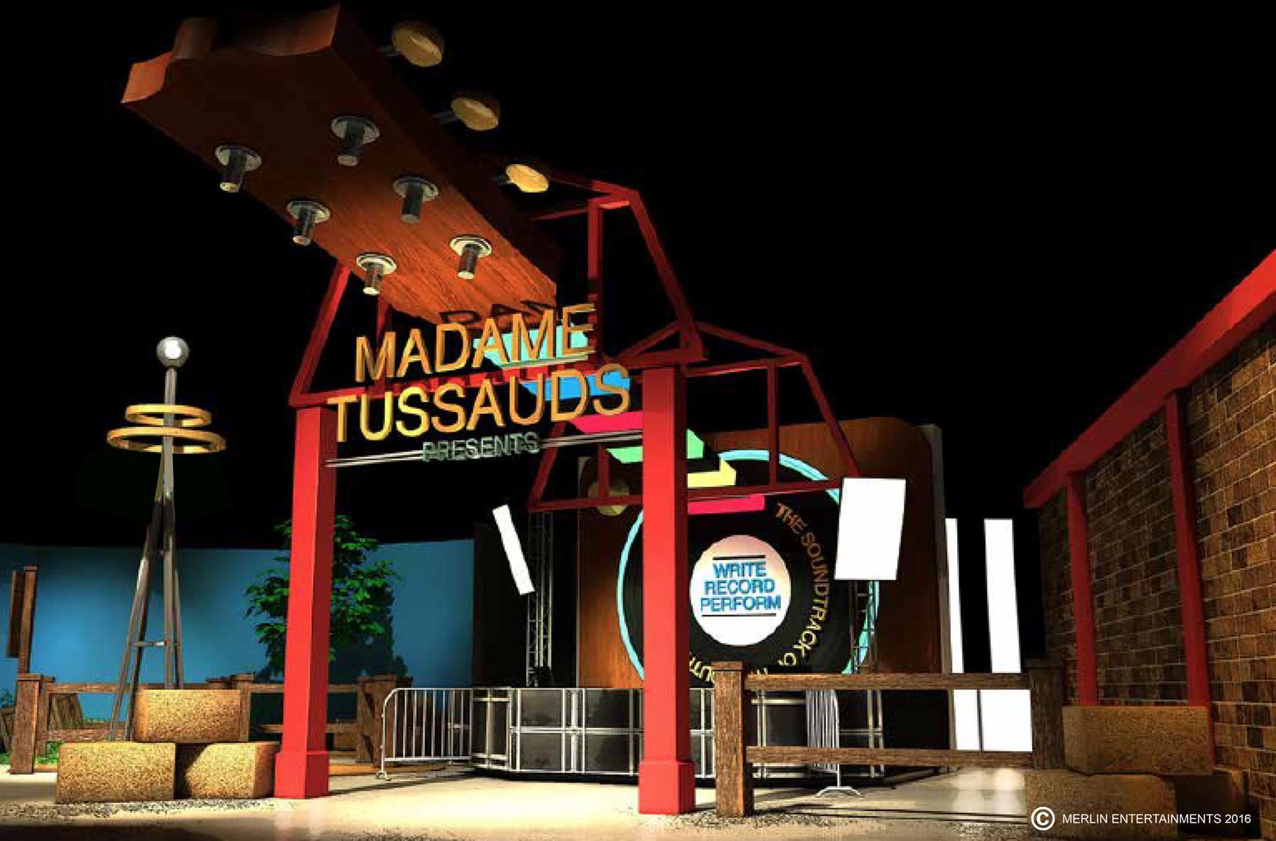 Madame Tussauds to Open in Nashville