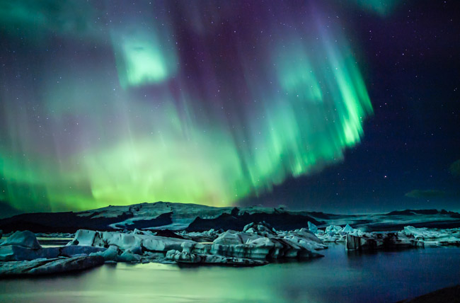 Student Captures the Northern Lights for His Senior Project