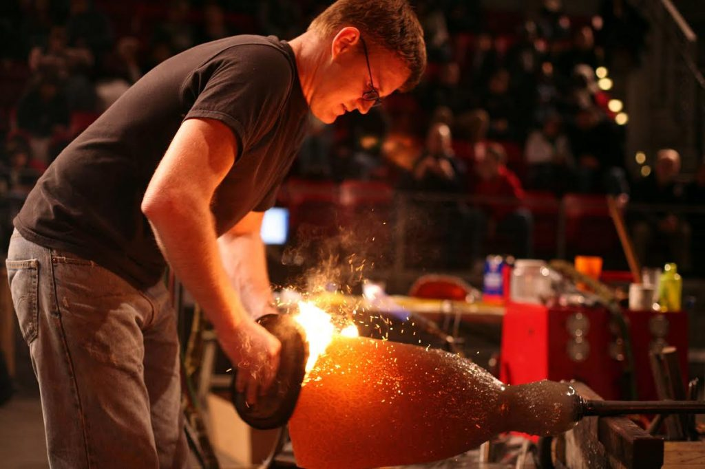 Hot Shop Glassblowing-Museum of Glass