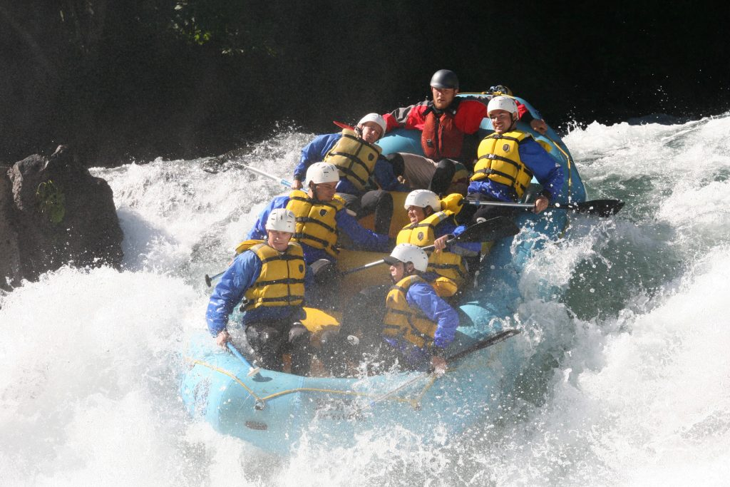 Courtesy photo Whitewater rafting on the White Salmon River is among the highlights of the JBLM Outdoor Recreation August calendar.