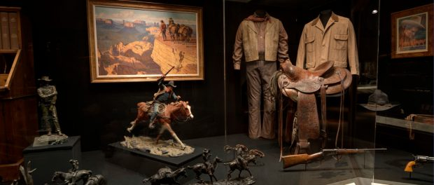 Cowboy Museum - John Wayne in the Western Performer's Gallery