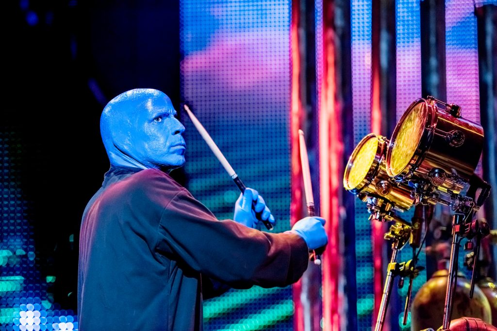 Blue Man Group Drummer