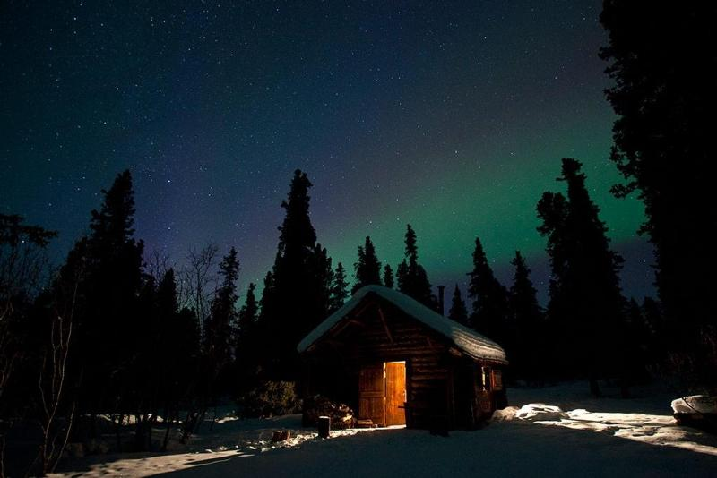 Denali - Northern Lights at Savage Cabin