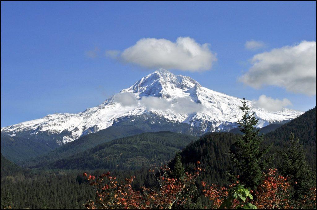 Top of Mount Hood, Oregon by Tony Fischer