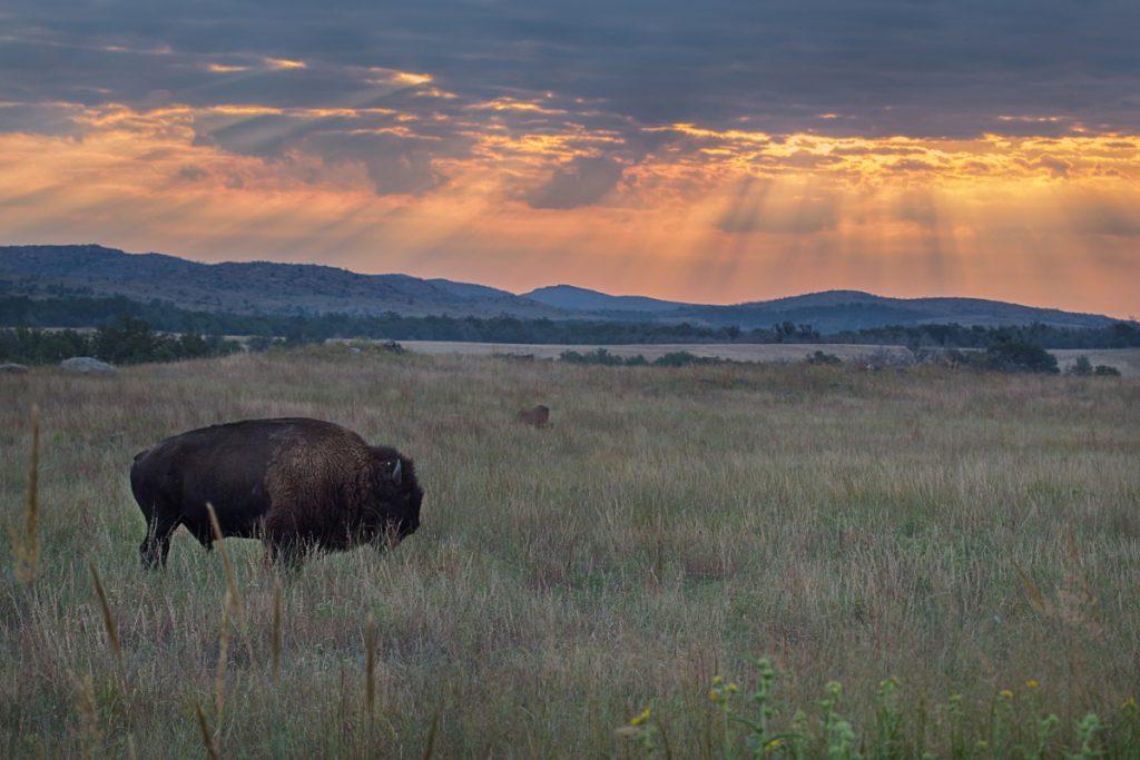 Wichita Mountain Sunrise by Larry Smith - flickr