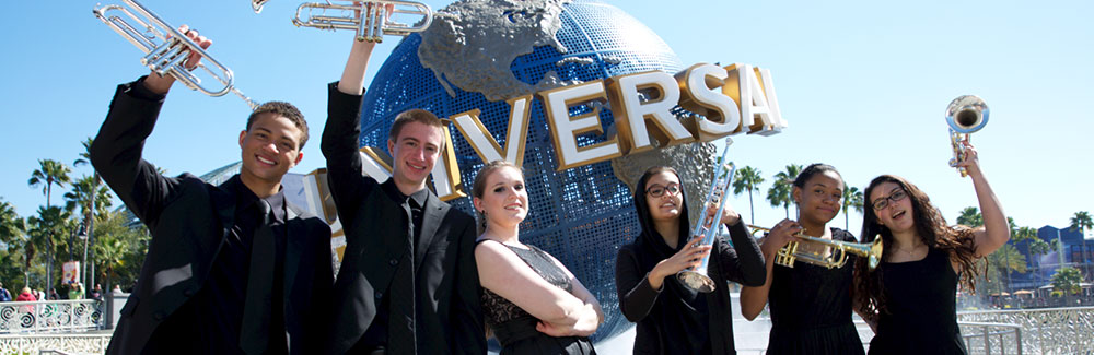 Student Performance Groups Take the Stage at Universal Orlando Resort