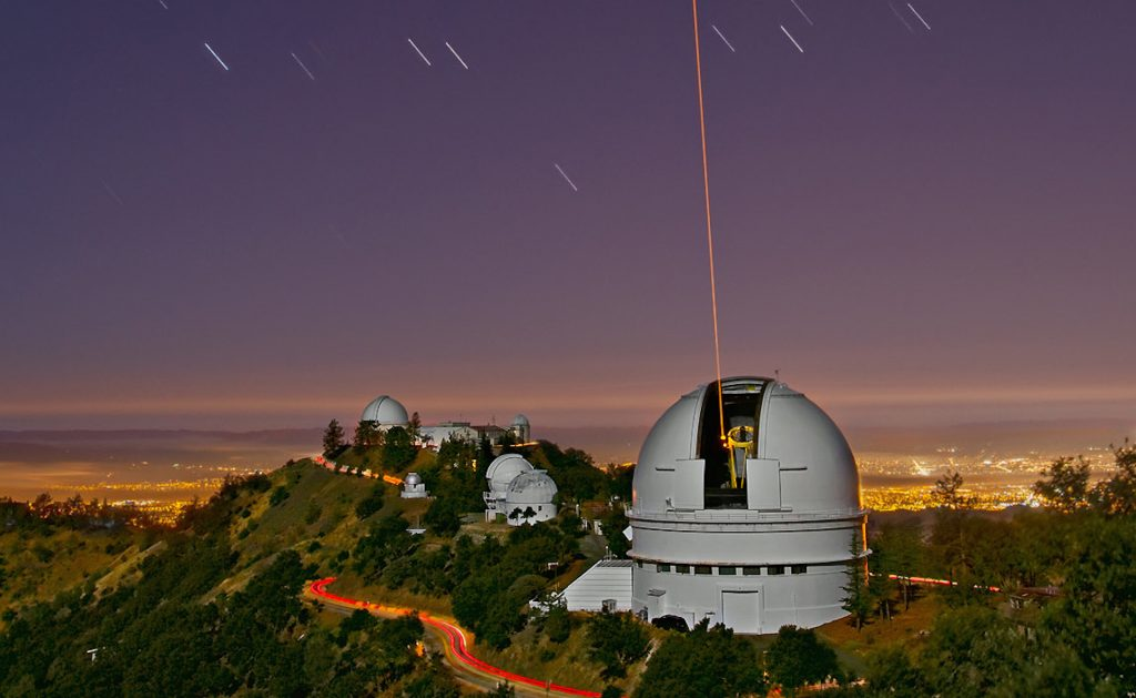 Lick Observatory in San Jose