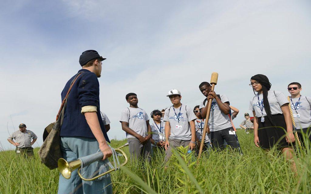 Gettysburg Foundation field trip