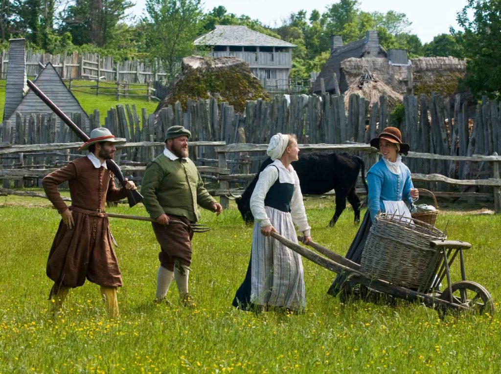 Plimoth Plantation outside of Boston