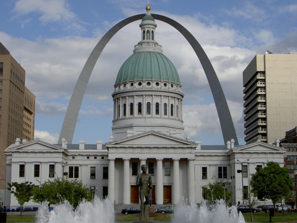 Old Courthouse in downtown St. Louis