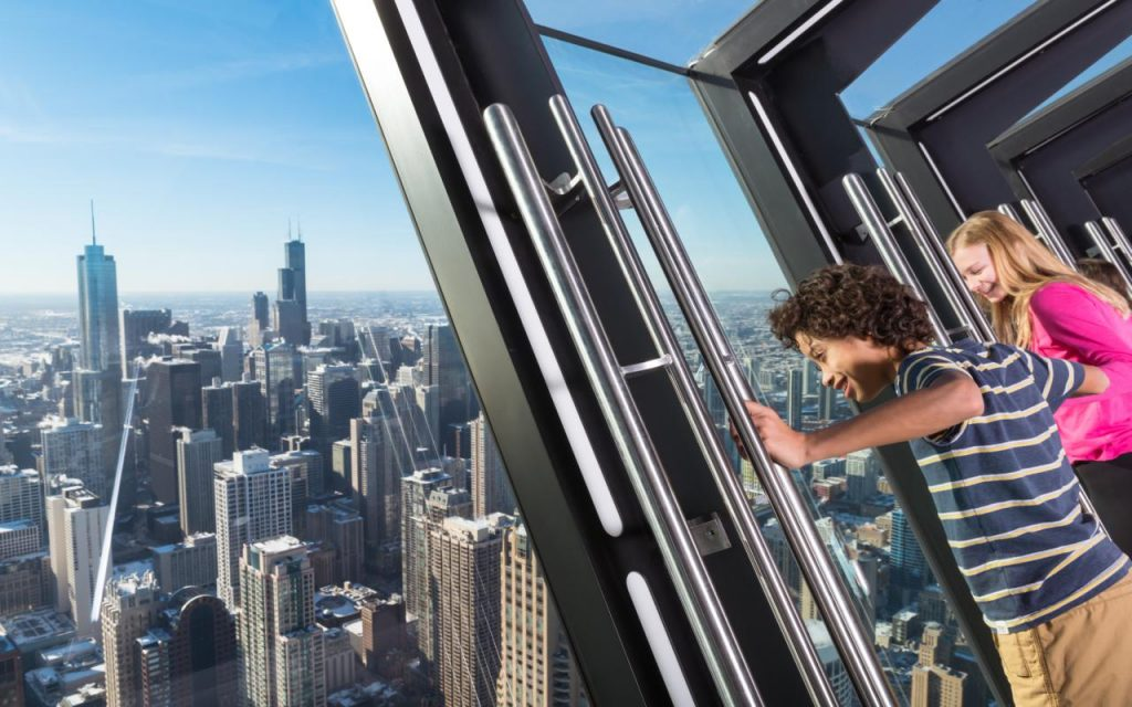 Visitors receive breathtaking views from TILT.