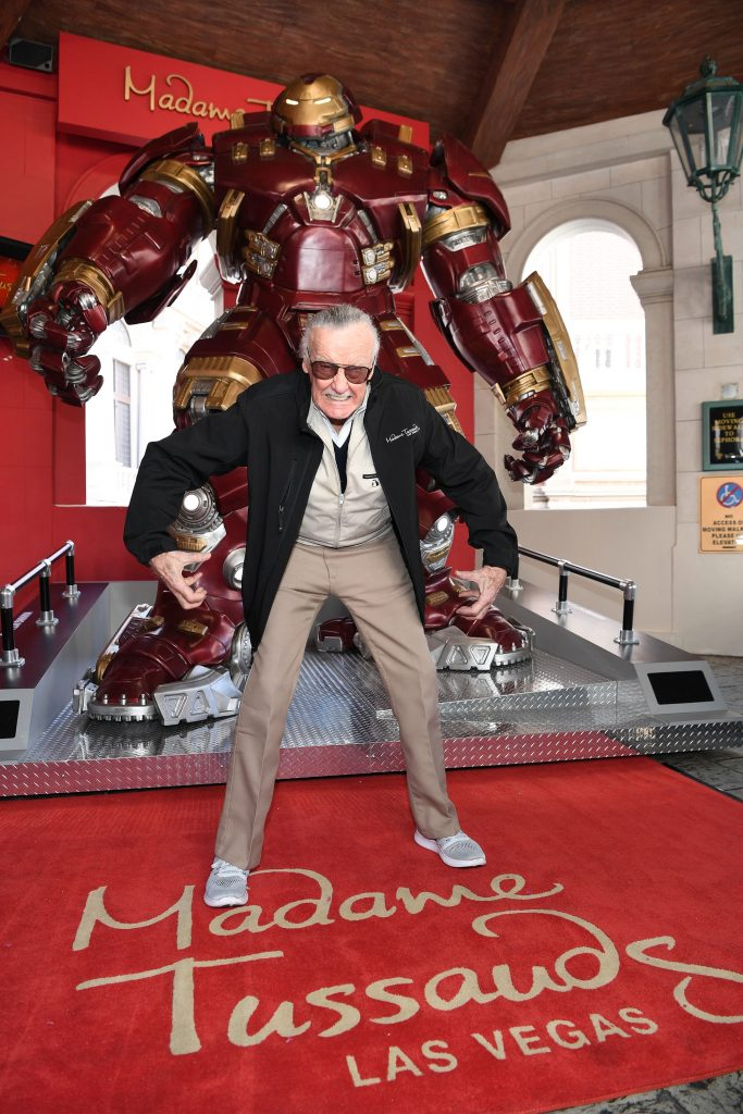 ssauds Las Vegas And Marvel Unveils Brand New Hulkbuster Figure With Iconic Marvel Mastermind, Stan Lee