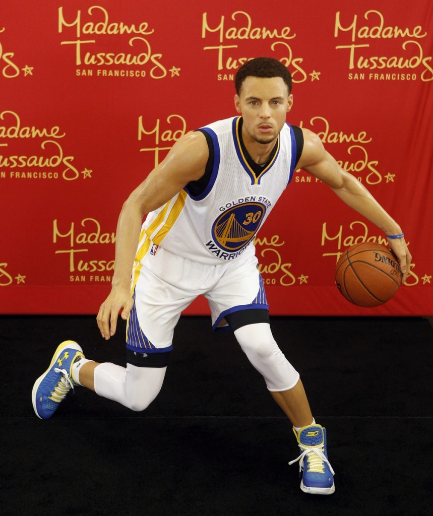 MadameTussaudsSan Francisco_Steph Curry