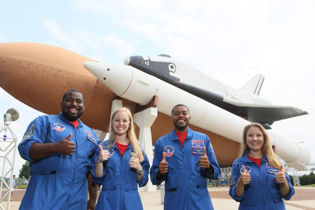 Shuttle and Space Camp Crew