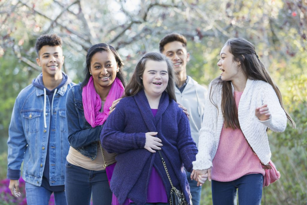 Be sure to ask special needs students and their parents what activities they're comfortable participating in.