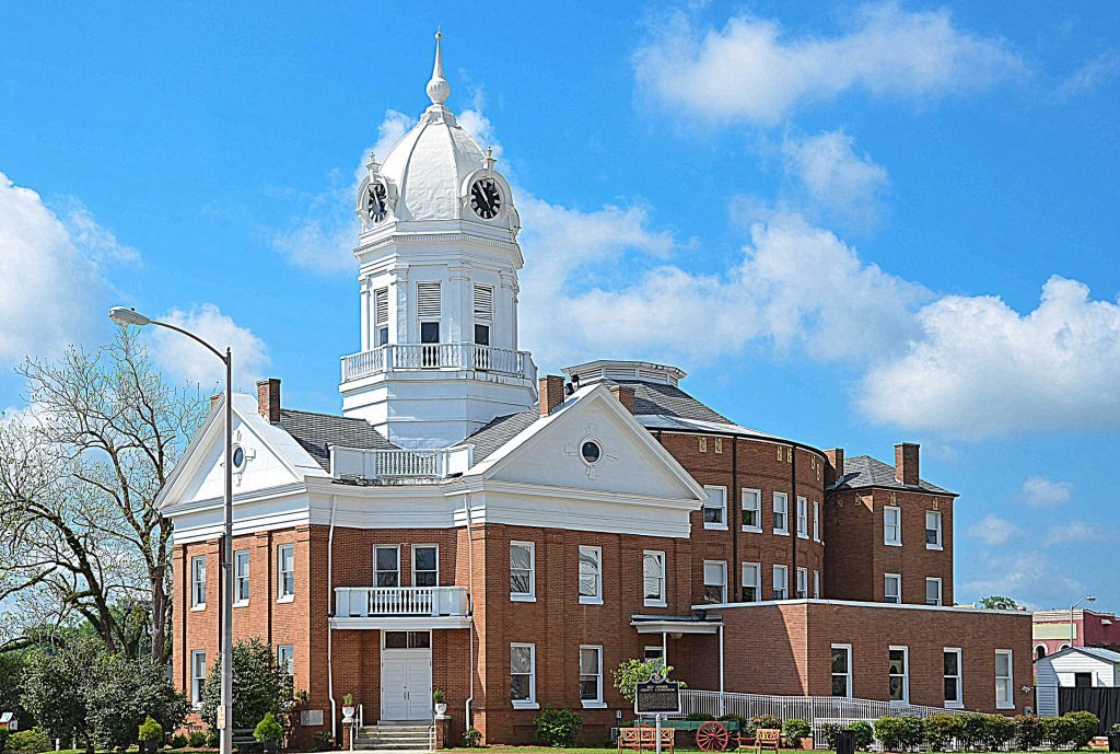 Alabama-Monroe County Courthouse