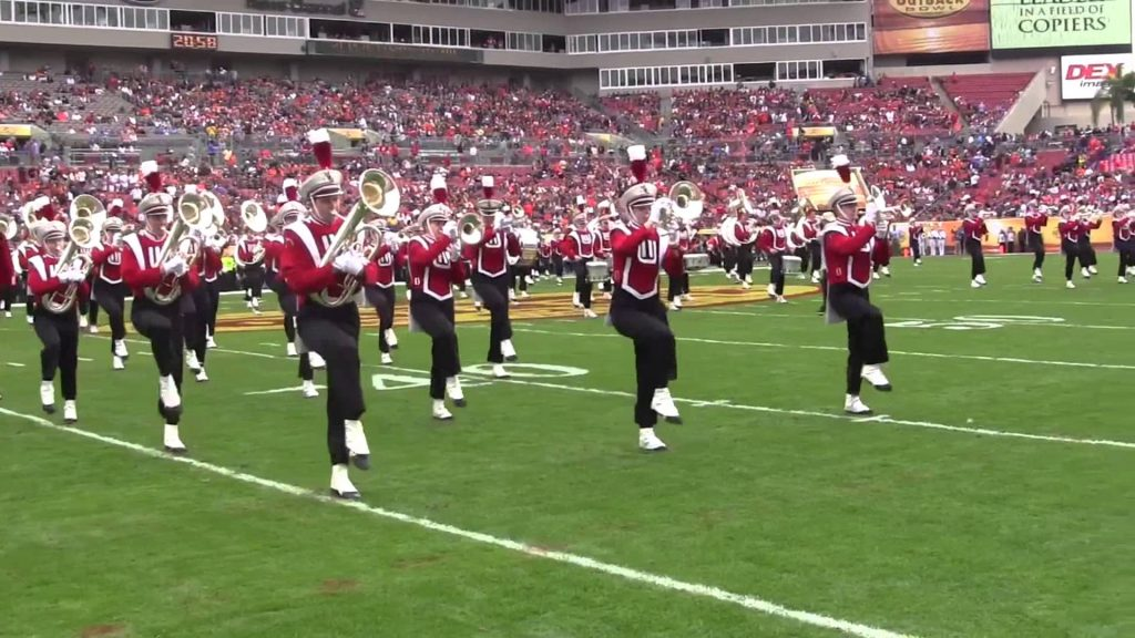 Wisconsin Marching Band - Outback Bowl Pre-Game