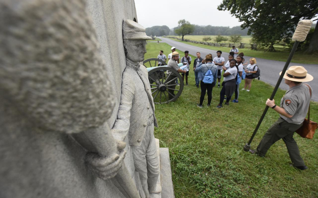Gettysburg Foundation Gives Students a Hands-On History Lesson