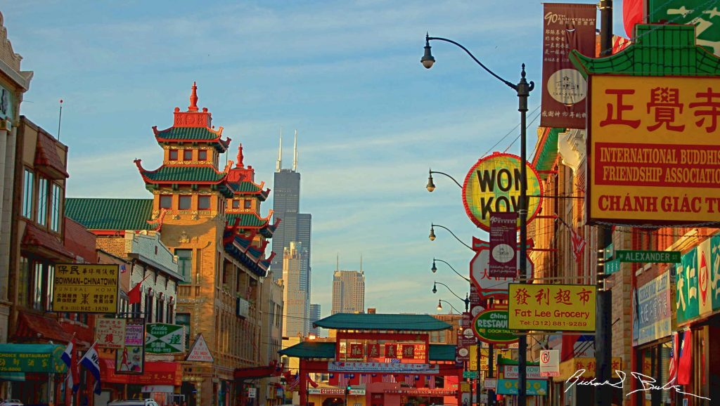 Chicago's Chinatown.