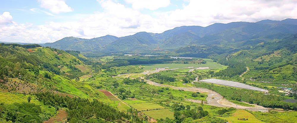 Orosi River Valley