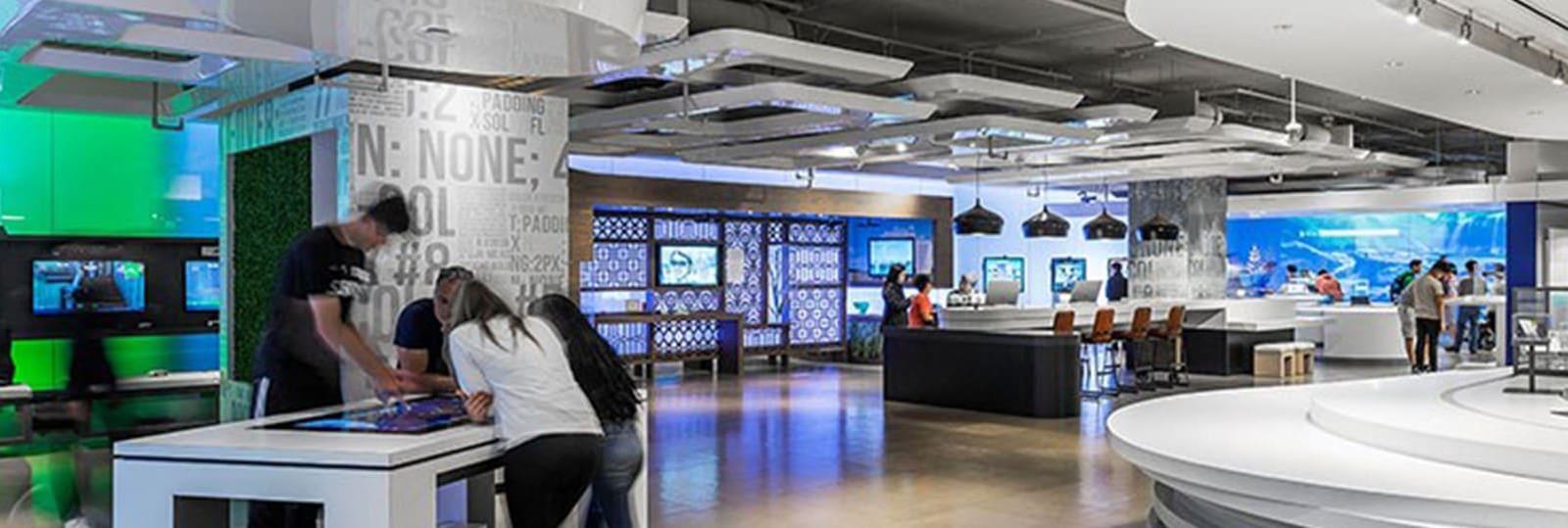 Microsoft Campus Visitor Center