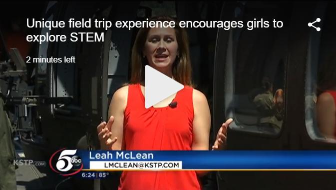 Unique field trip experience encourages girls to explore STEM