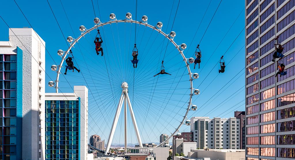 FLY LINQ Zipline, Las Vegas