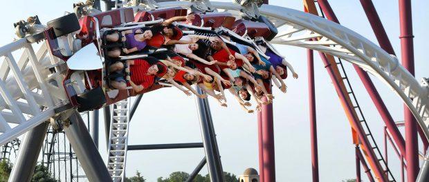 Six Flags Great America - Maxx Force