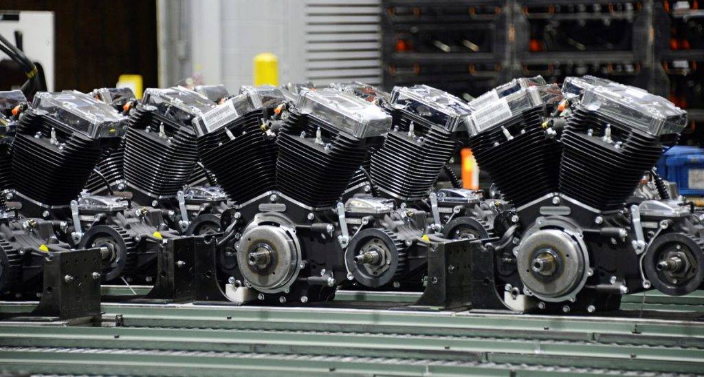 Harley-Davidson Powertrain Operations Completed Engines