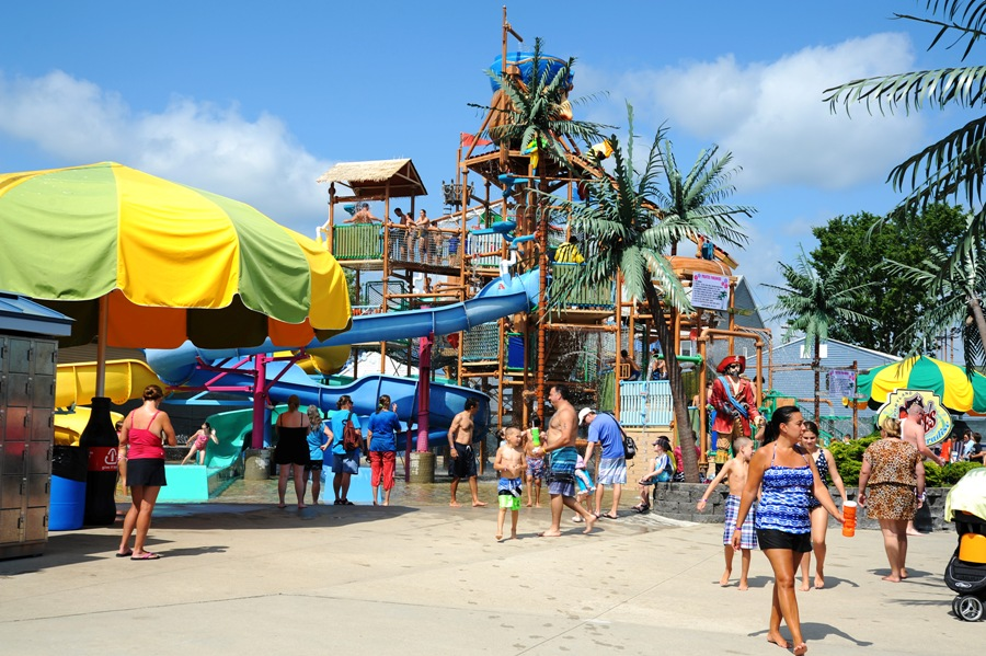 Top Water Parks for Student Groups in New England