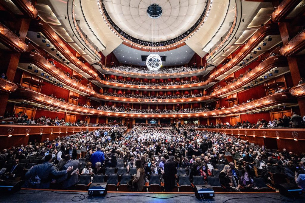 Events in Prudential Hall at New Jersey Performing Arts Center