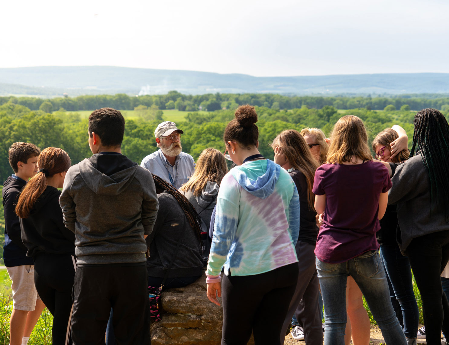 Student Group Tour with a Licensed Battlefield Guide