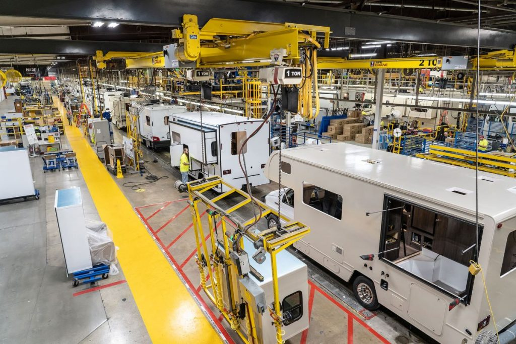 Winnebago Motorhome Assembly