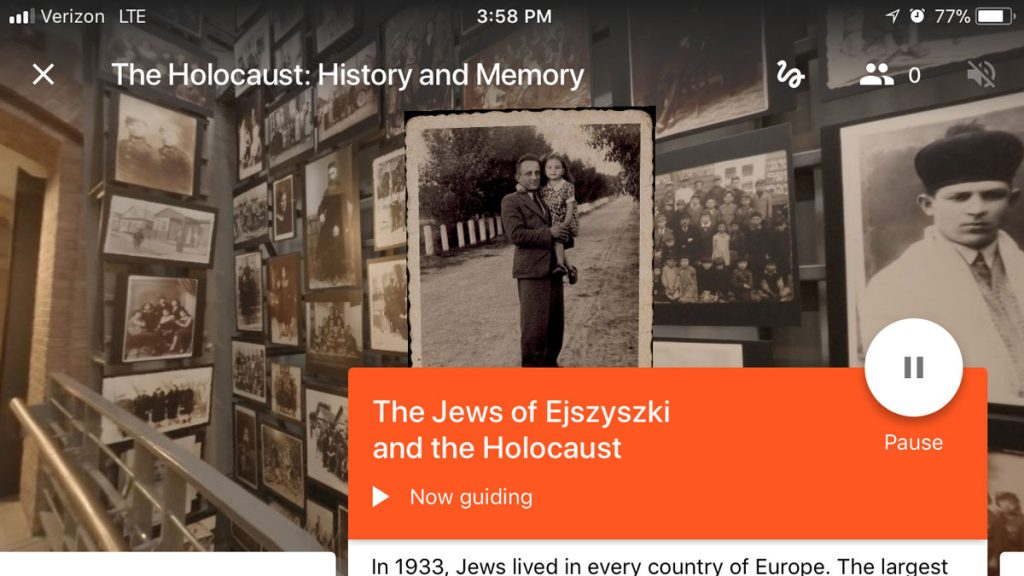 The Holocaust: History and Memory program; Credit United States Holocaust Memorial Museum