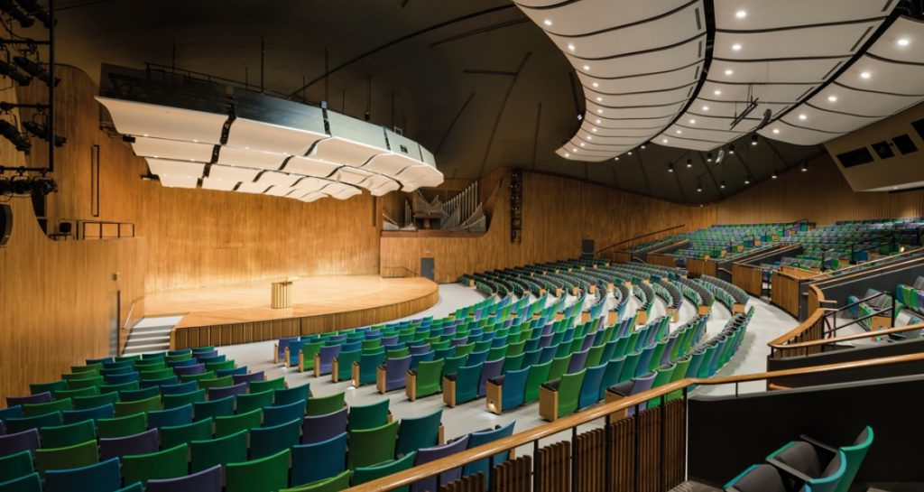Kresge Auditorium at MIT - Cambirdge MA
