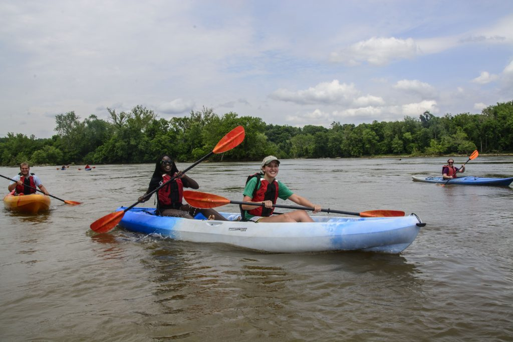 Kayaking at Riverbend Park - Fairfax County